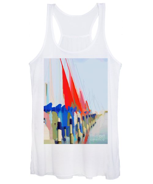 Red Sails In The Sunset Women's Tank Top