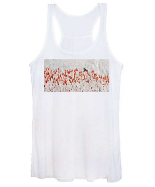 Red-winged Blackbird Women's Tank Top