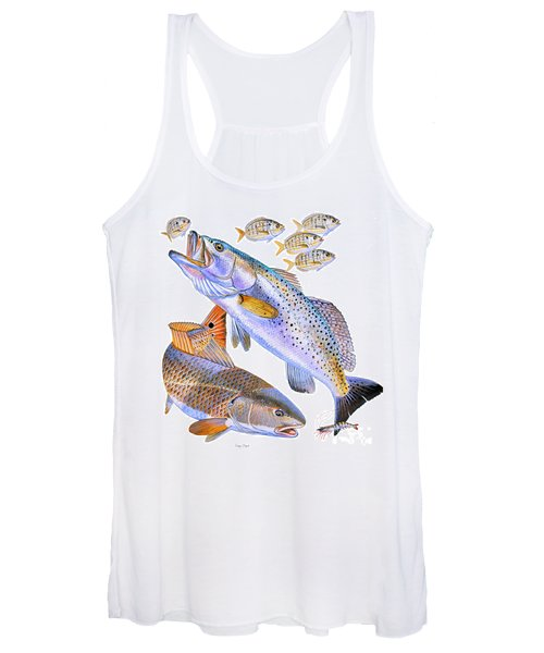 Redfish Trout Women's Tank Top