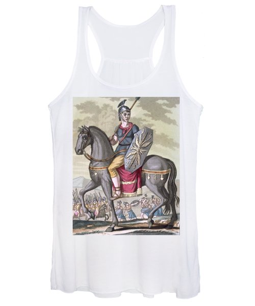 Roman Cavalryman Of The State Army Women's Tank Top