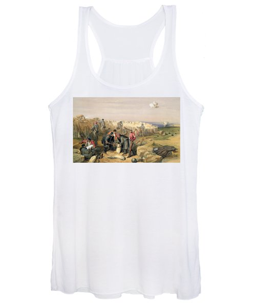 Russian Rifle Pit , Plate From The Seat Women's Tank Top