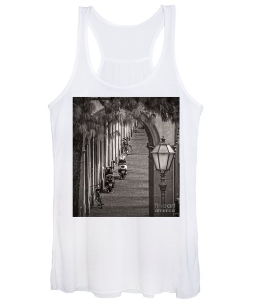Scooters And Bikes Women's Tank Top
