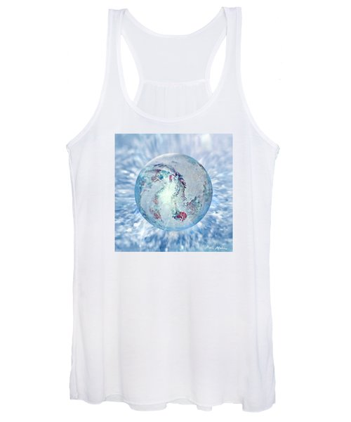 Shades Of Winter Women's Tank Top