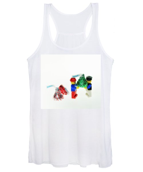 Sharing A Hug Women's Tank Top