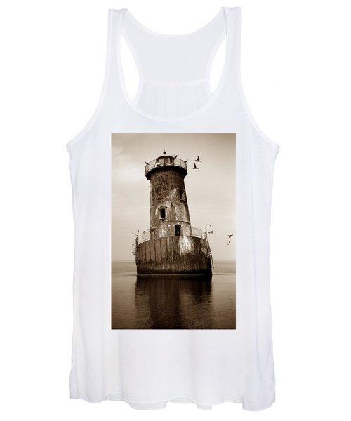 Sharps Island Lighthouse Women's Tank Top
