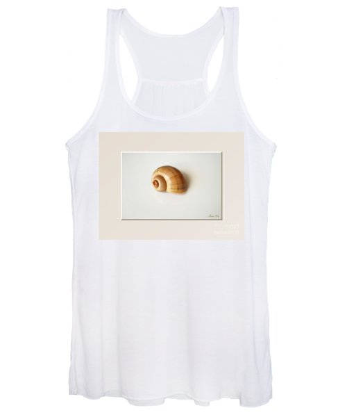 Shell. Delicate Colors Women's Tank Top
