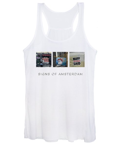 Signs Of Amsterdam Women's Tank Top