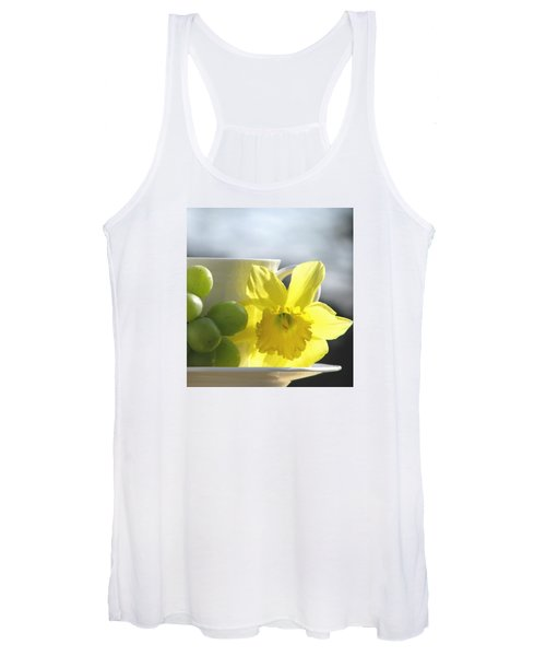 Sipping Spring Women's Tank Top