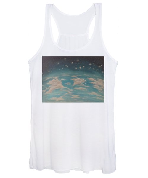 Sitting On Top Of The World Women's Tank Top