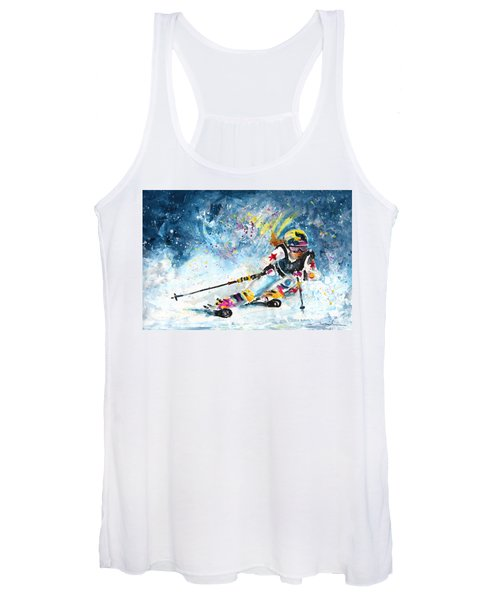 Skiing 03 Women's Tank Top