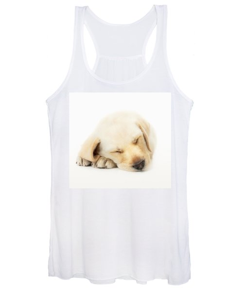 Sleeping Labrador Puppy Women's Tank Top