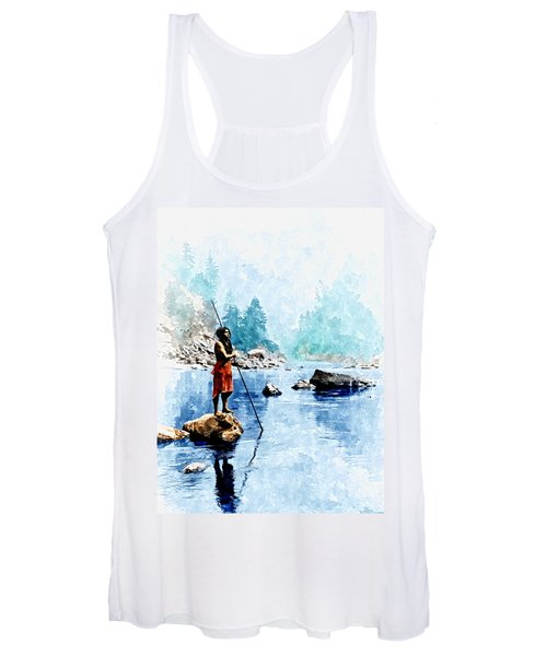 Smoky Day At The Sugar Bowl Women's Tank Top