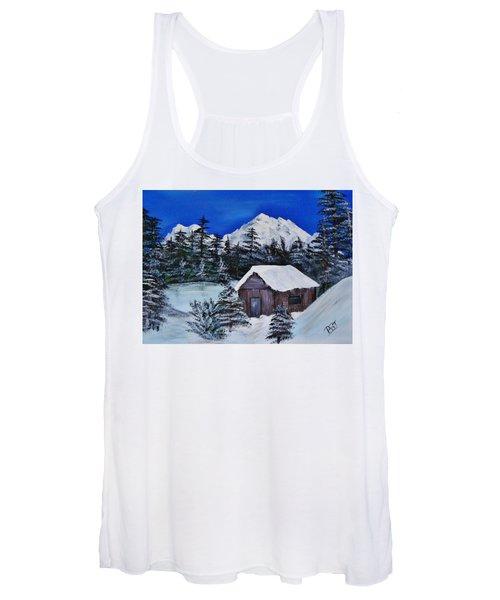 Snow Falling On Cedars Women's Tank Top