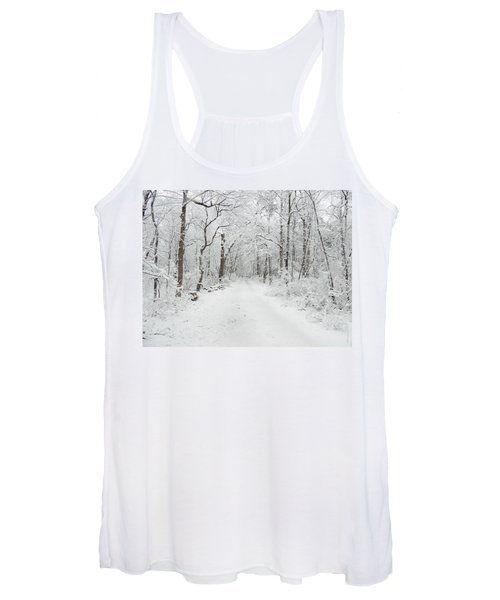 Snow In The Park Women's Tank Top