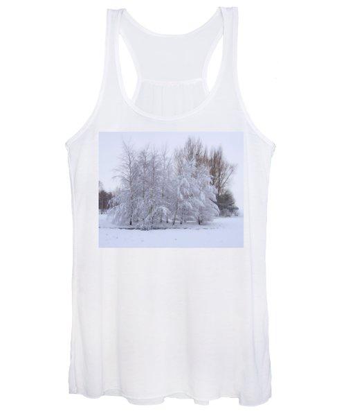 Snow Trees Women's Tank Top