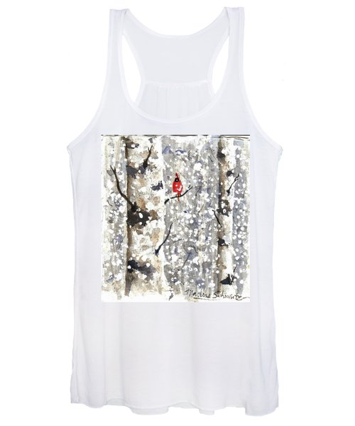 Snowy Hello Women's Tank Top