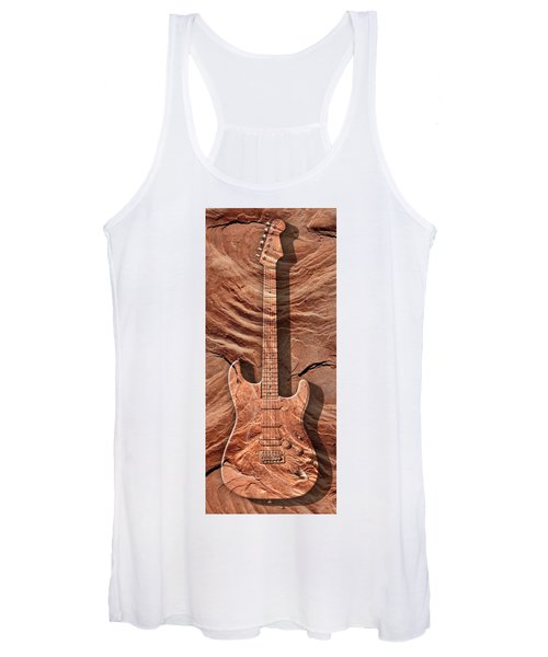 Solid As A Rock Panoramic Women's Tank Top
