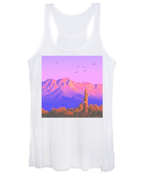 Solitary Silent Sentinel Women's Tank Top