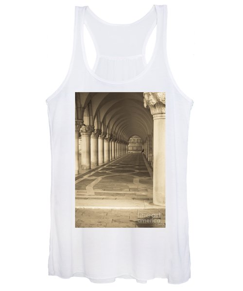 Solitude Under Palace Arches Women's Tank Top