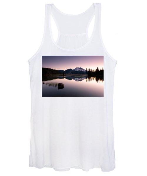 Sparks Lake Sunrise Women's Tank Top