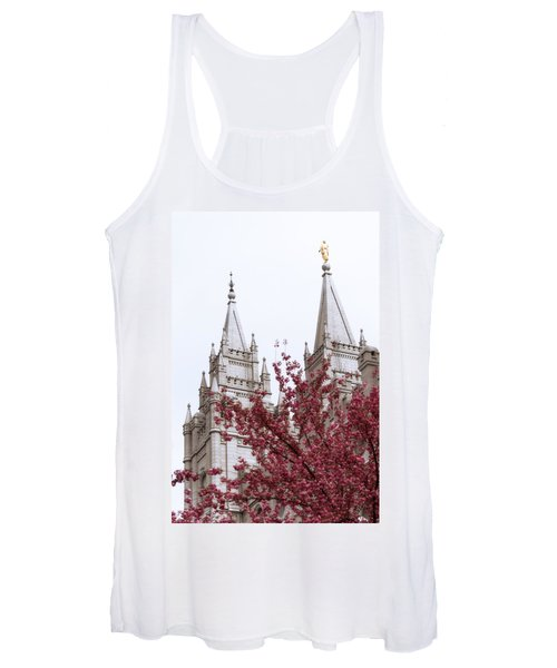 Spring At The Temple Women's Tank Top