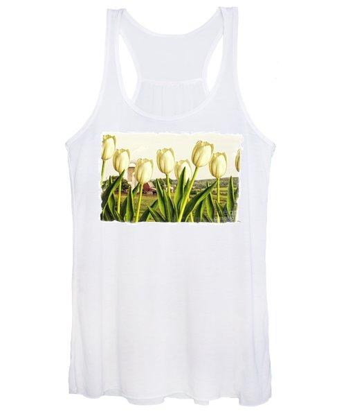 Spring Down On The Farm Women's Tank Top