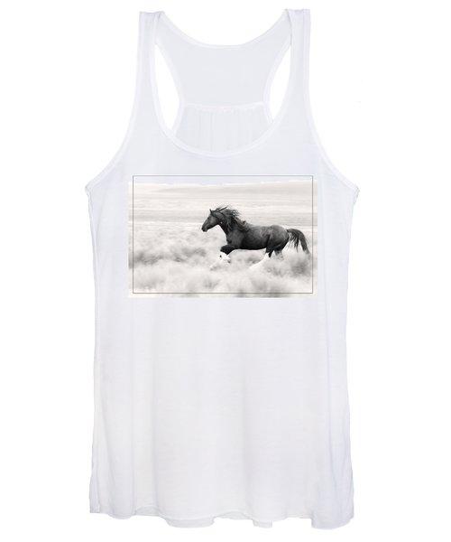 Stallion Blur Women's Tank Top