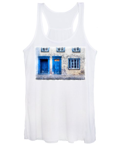 Streets Of Old Quebec 2 Women's Tank Top