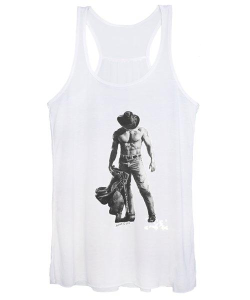 Strength Of A Cowboy Women's Tank Top