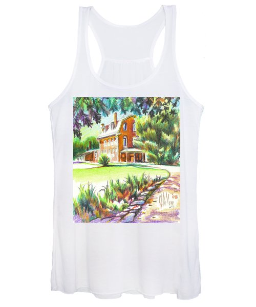 Summertime At Ursuline No C101 Women's Tank Top
