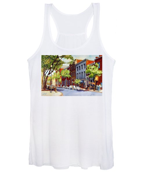 Sunny Day Cafe Women's Tank Top
