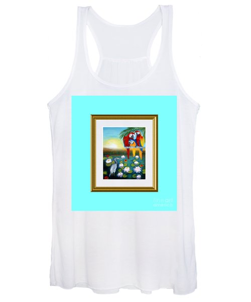 Sunrise In Paradise. Inspiration Collection Women's Tank Top