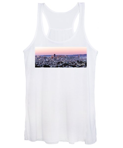 Sunset Cityscape Women's Tank Top