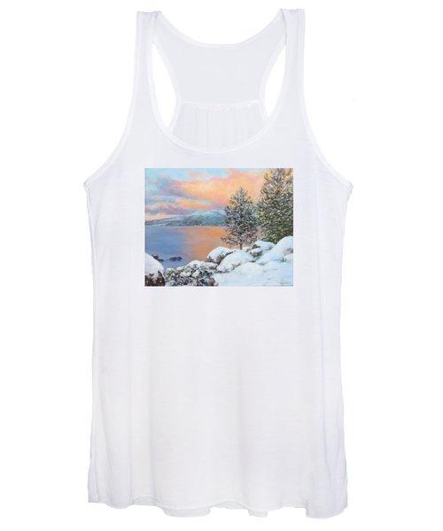 Tahoe Winter Colors Women's Tank Top