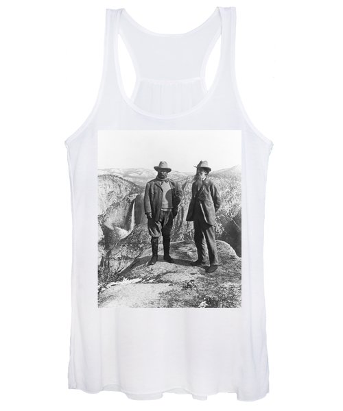 Teddy Roosevelt And John Muir Women's Tank Top