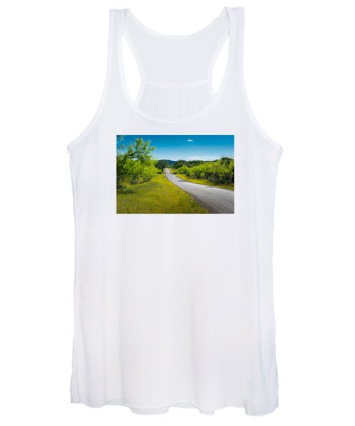 Texas Hill Country Road Women's Tank Top