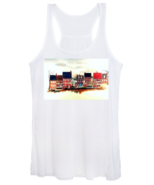 The Back Of The Strand Women's Tank Top