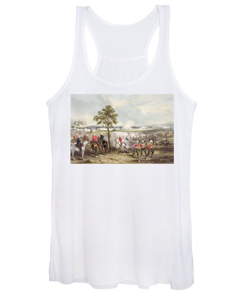 The Battle Of Goojerat On 21st February Women's Tank Top