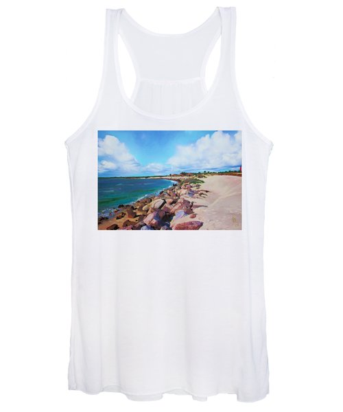 The Beach At Ponce Inlet Women's Tank Top