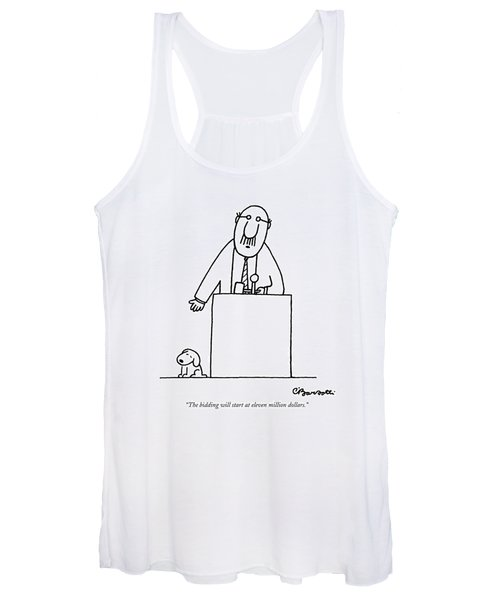 The Bidding Will Start At Eleven Million Dollars Women's Tank Top