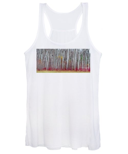 The Birches Panorama  Women's Tank Top