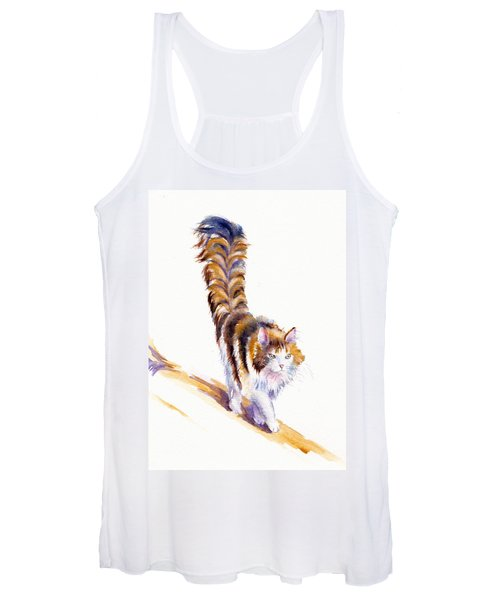 The Calico Cat That Walked By Himself Women's Tank Top