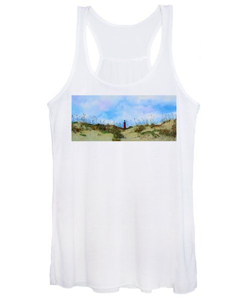 The Center Of Attention Women's Tank Top