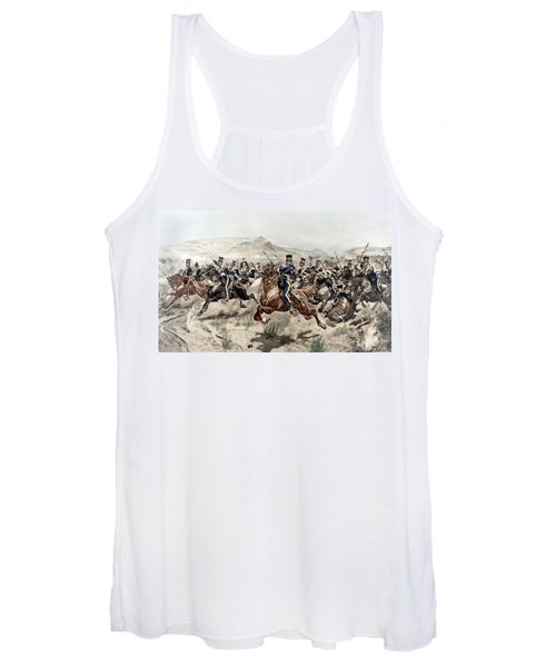 The Charge Of The Light Brigade, 1895 Women's Tank Top