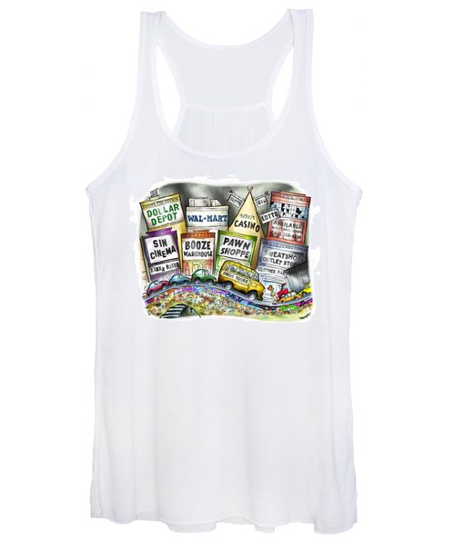 The Delights Of Modern Civilization Women's Tank Top