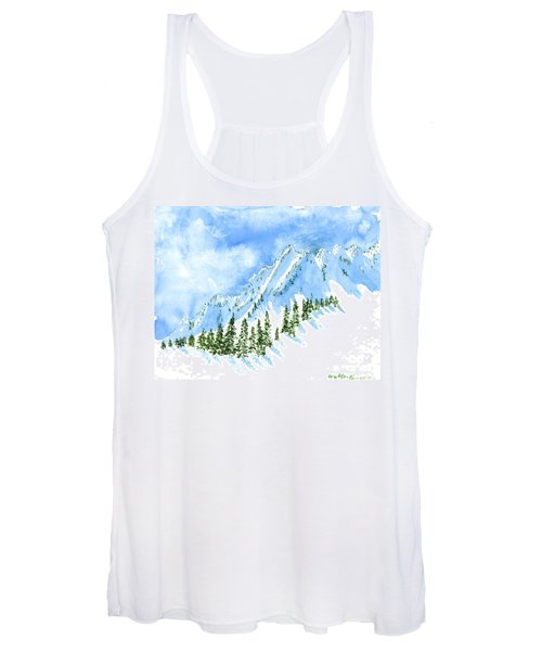 The Face Of The Sisters Women's Tank Top