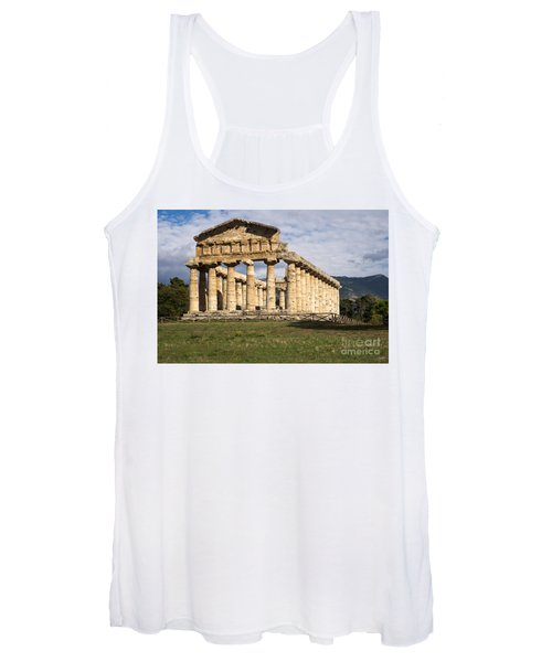The Greek Temple Of Athena Women's Tank Top