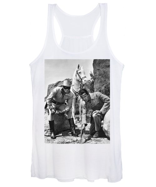 The Lone Ranger And Tonto Women's Tank Top