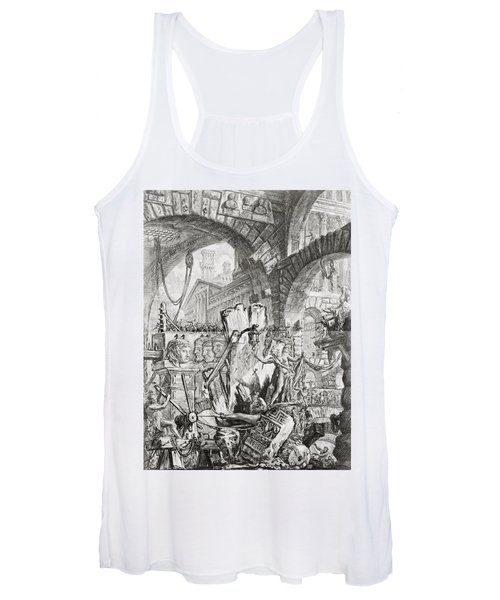 The Man On The Rack Plate II From Carceri D'invenzione Women's Tank Top