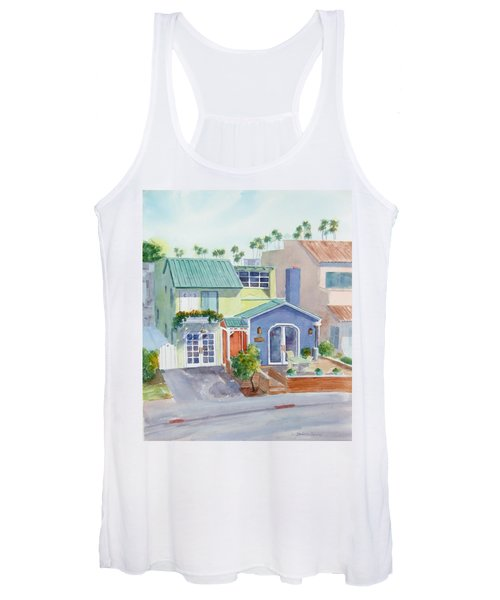 The Most Colorful Home In Belmont Shore Women's Tank Top